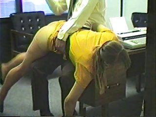Spanking of Julia Jameson