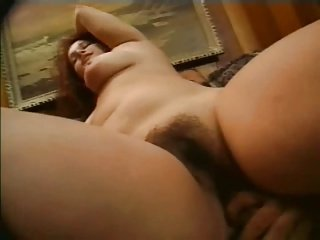 BBW GF with hairy Wet Pussy love sucking and fucking-P2