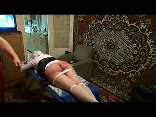 Orgasm from punishment