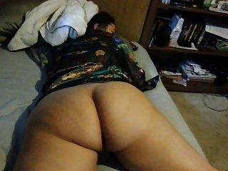big white booty!