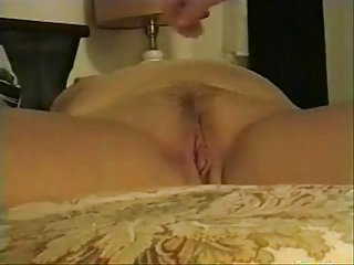 Playing with the creampie!
