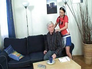 His Hot Teen Helper Does Give A Fuck !
