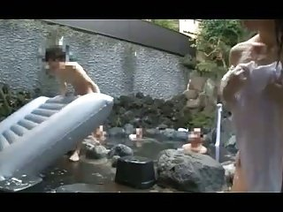 Japanese mixed bath