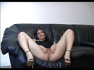 Brunette Solo Dirty Talk
