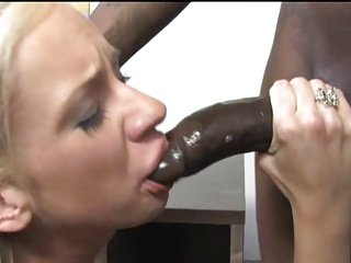Big black dick Destroy Blonde Teen
