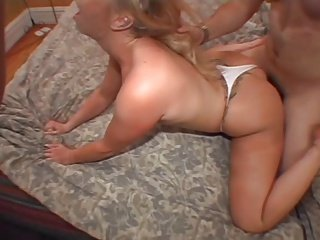 mature woman anal facial