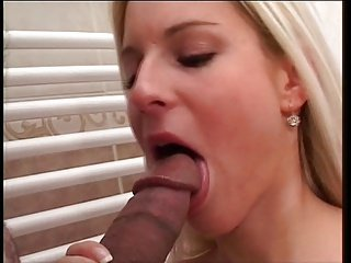 Nicky Reed,a naughty blond on a dick