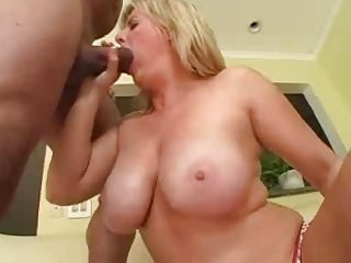 interracial swallow