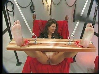 Male dom, tits,hot wax,spanking