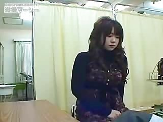 Cute japanese girl checkup