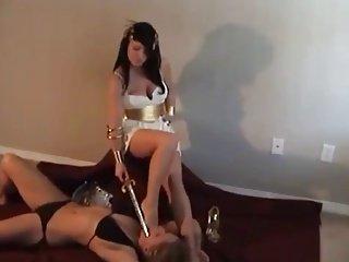 best of Goddess Megan lesbian mistress