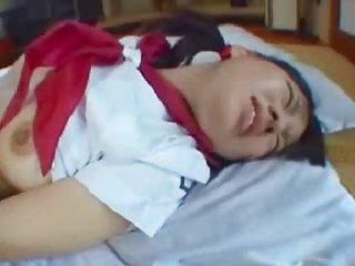 可爱丰满的日本少女玩第3部分