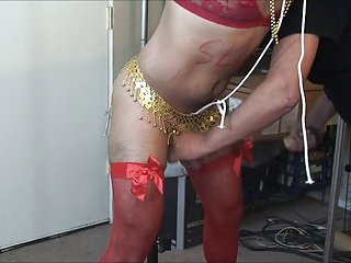 Sissy me impaled and milked