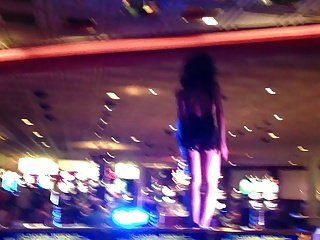 Dancing my butt off in Vegas