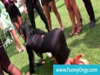 Posh bday party goes orgy at the mansion