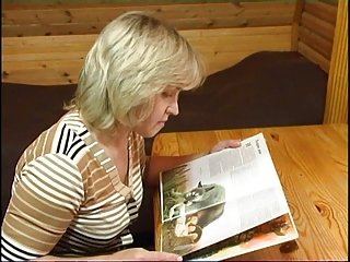 Lovely Virginia - Lesbian Fun in the Cabin