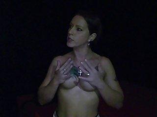 Silke Maiden in a porn-cinema