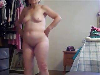 Watch my od exhibitionist slut. Amateur older