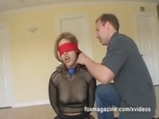 See Cherry Rose hogtied and fuck to the extreme