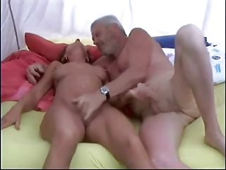 Grandma and grandpa porno met