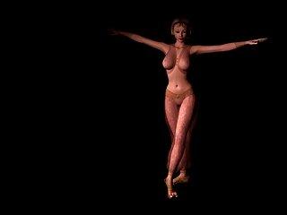 3D Belly Dance
