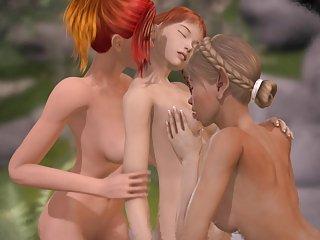 3D-Teen- Spera Damno Vol. 5 - Lesbians Fuck