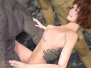 Forbidden Treasure -(3d hentai)