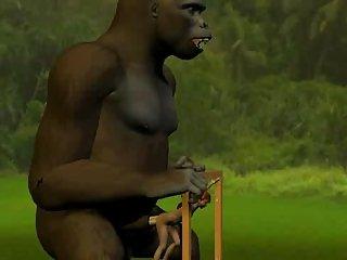 3D Monster Fucking
