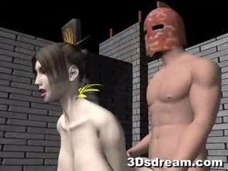 3D anime sex movie