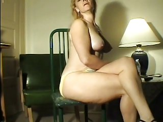 Farting Blonde hot lady