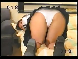 Farting Japanese Girl