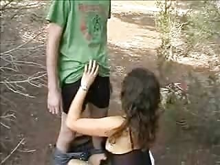 Young Swinger Couple Meet The Big Dick Stud In The Forest