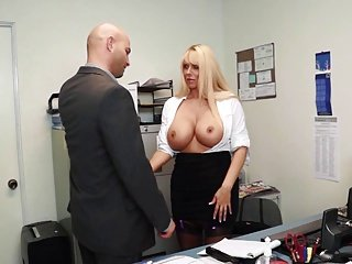 Office Hot lady slut