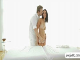 Big boobs and booty babe Dillion Harper sensual fuck after massage
