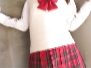 YAMASAKI Miho in high school uniform