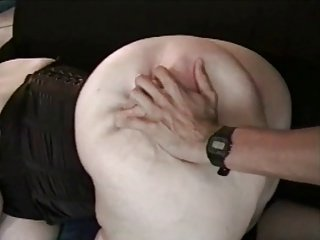 BBW Ayla in Black Corset - Anal