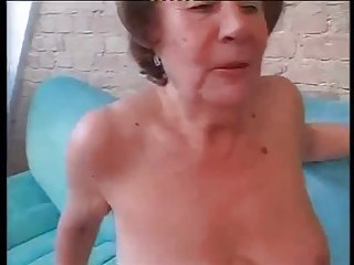 Slut Granny Martha Fuck In Both Holes
