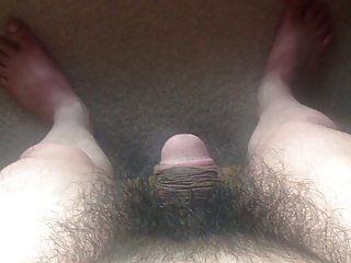 Short Penis Jason measuring his flaccid penis 2
