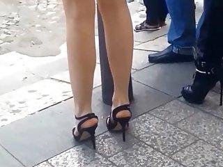 High heels in Paris 05  a couple of high heel queens