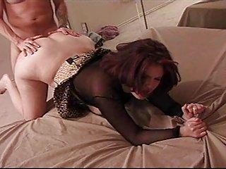Zach Miles fucks juicy asshole & pussy