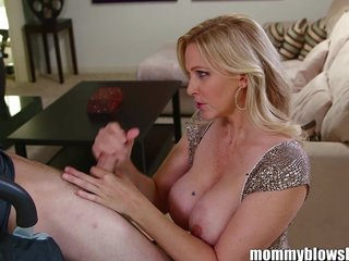 MommyBB Busty Hot lady Julia Ann is sucking my ti