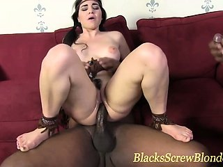 Big black dick fuck and facial