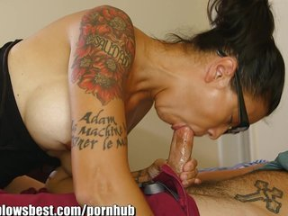 MommyBB Dana Vespoli caughts her stepson jerking off!
