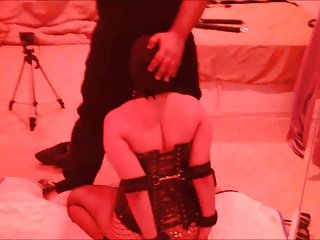 Indian slave wife facefucked in bondage
