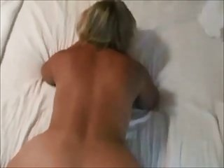 Curvy hot lady POV