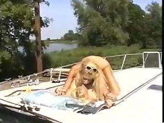 Girls on Boat