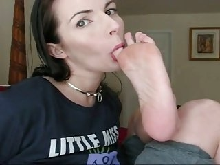 Self Foot Worship