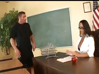 Busty Hot lady teacher