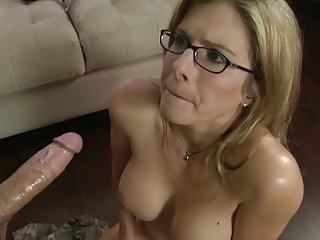 Blow job from my stepmom