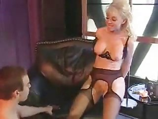 Nina Hartley Flirting With And Fucking This Young Man